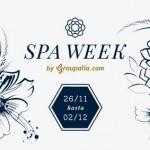 Disfruta del Spa Week hasta el 2 de diciembre