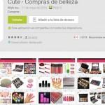 Cute, la app que te ayuda a realizar tus compras de belleza