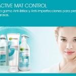 Pure Active Mat Control, la propuesta para una piel sin imperfecciones de Garnier